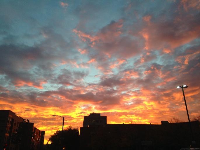 Half CO Sunrise